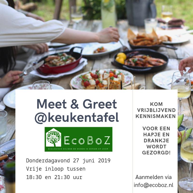 EcoBoZ Meet en Greet keukentafel 2